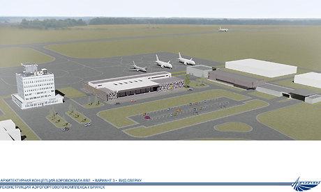 Наразвитие брянского аэропорта выделили 518 млн. руб.