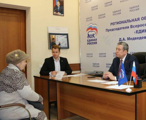 Владимир Попков провел прием жителей